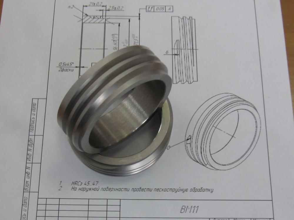 Резьбовой знак, механическая обработка, изделия под заказ